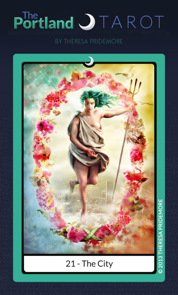 The Portland Tarot Major Arcana By