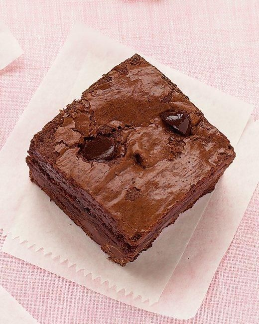 Chocolate-Chip Brownies Recipe