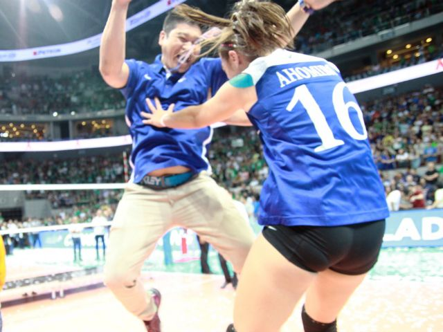 UAAP: Keeping it loose - Thai coach Bundit made sure Lady Eagles stayed 'happy' | GMA News Online Hadouken!