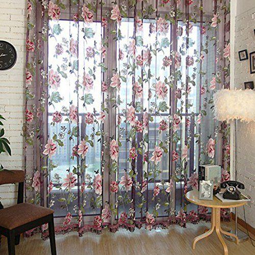 128 best curtains images on Pinterest Cortinas crochet, Net - vorhänge blickdicht schlafzimmer