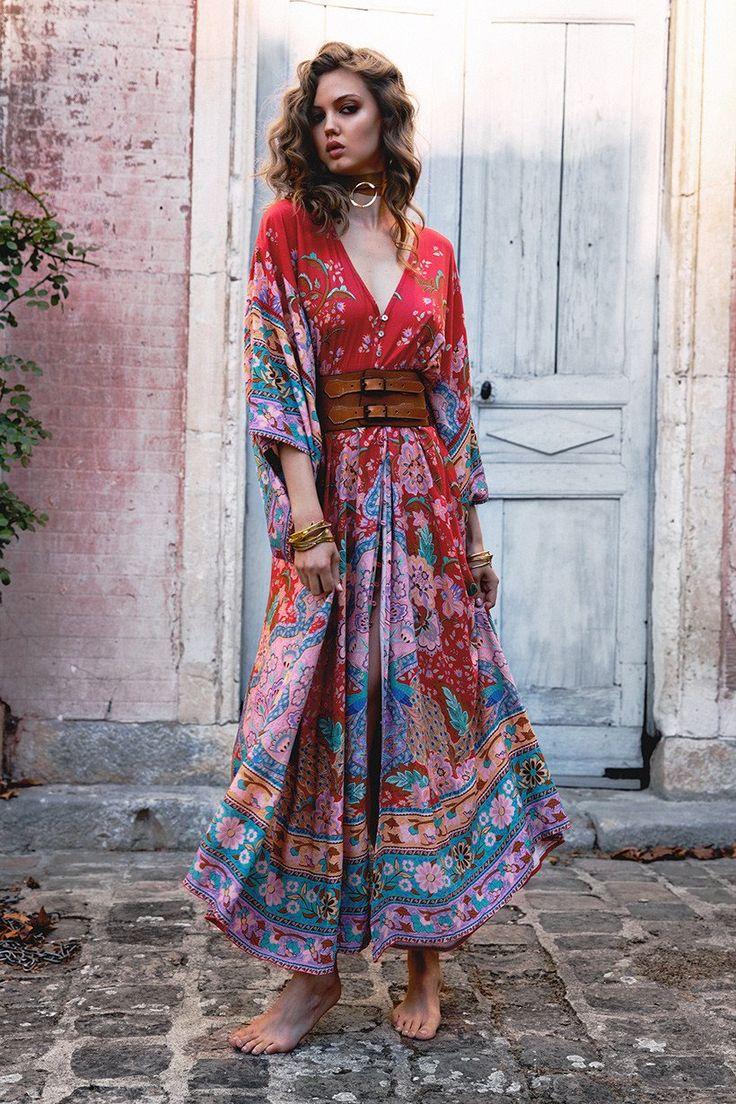 Lotus Kimono Gown | Spell Designs