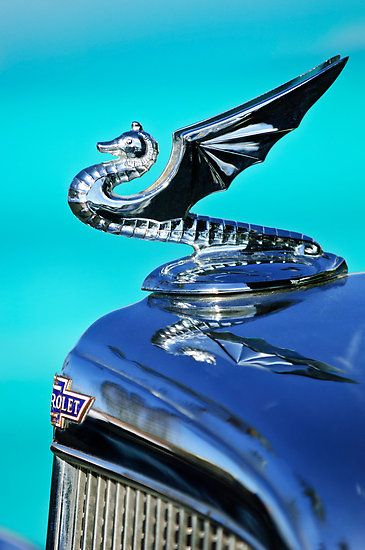 1934 Chevy Dragon Hood Ornament Cars Amp Planes And