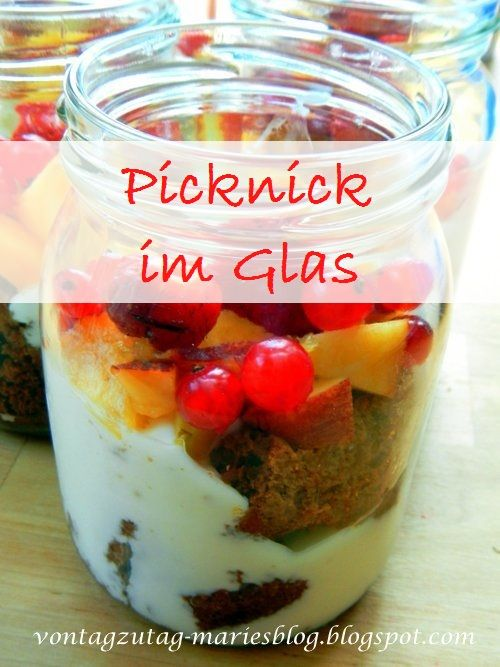 Von Tag zu Tag - Maries Blog: Picknick im Glas