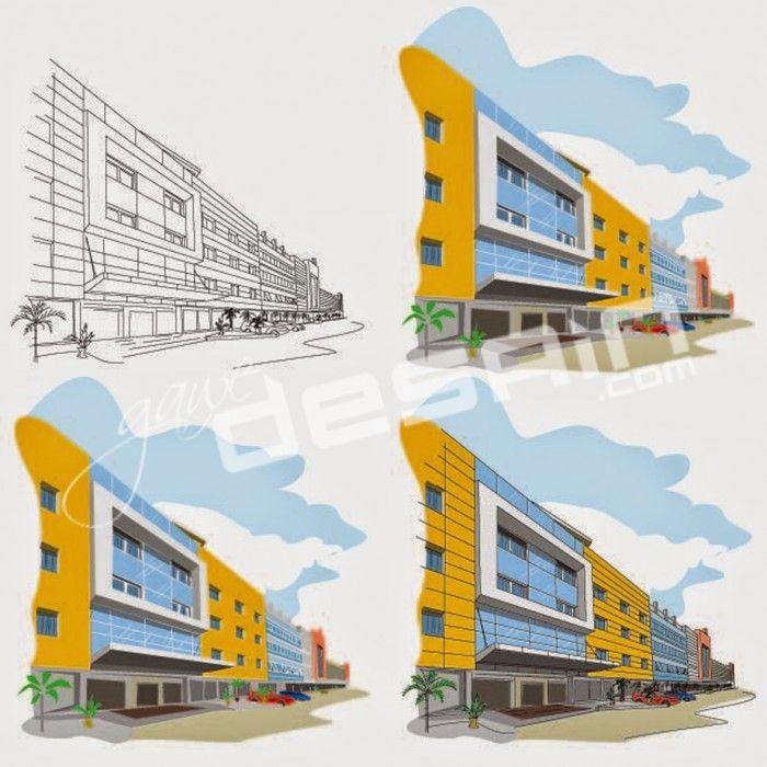 Vectorize Cempaka Hotel //Desain