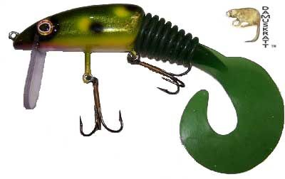 Muskie fishing lures and baits from h2o musky tackle for Musky fishing reels