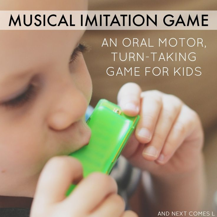 A simple oral motor activity for kids that teaches social skills and musical concepts. Great for kids with autism and/or sensory processing disorder! from And Next Comes L