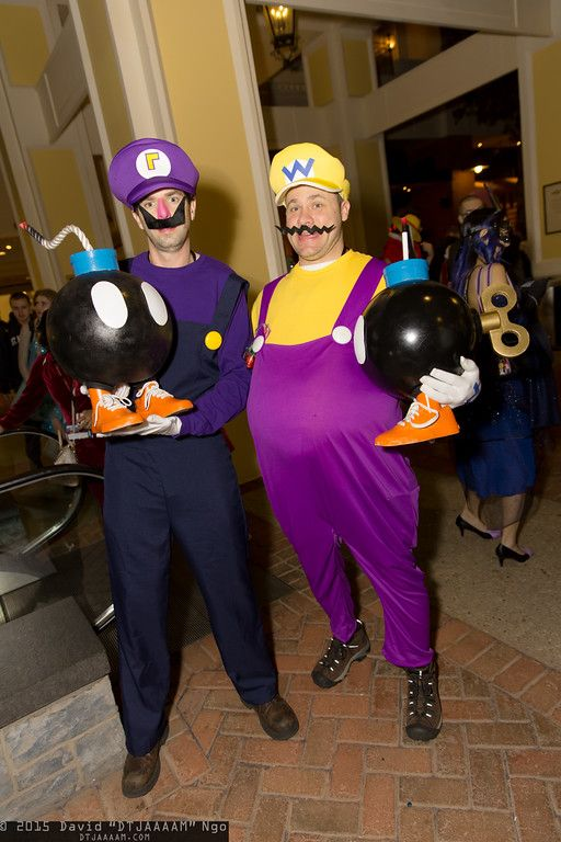Waluigi, Wario, and Bob-ombs | Katsucon 2015