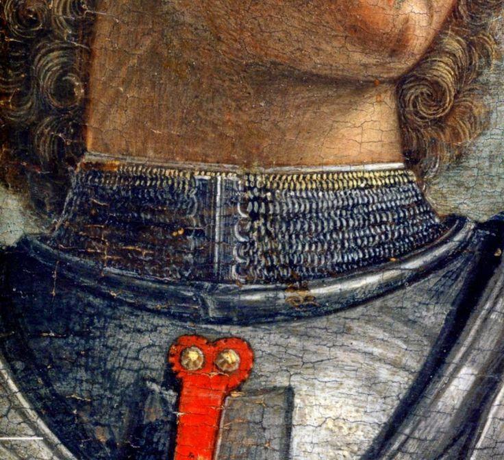 """Andrea Mantegna, """"St. George"""", Gallerie dell'Accademia, Venice 1468"""