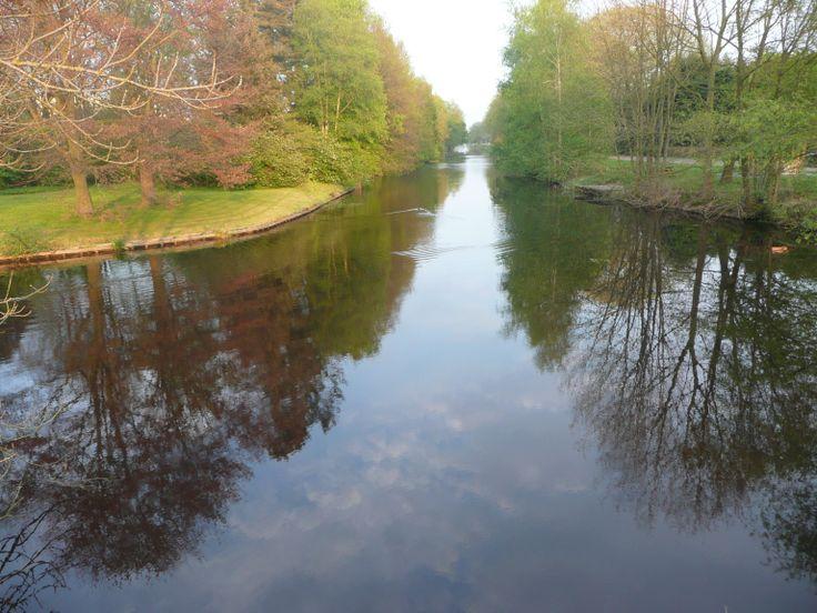 Dommerskanaal ter hoogte van Amsterdamscheveld ten zuiden van Erica.