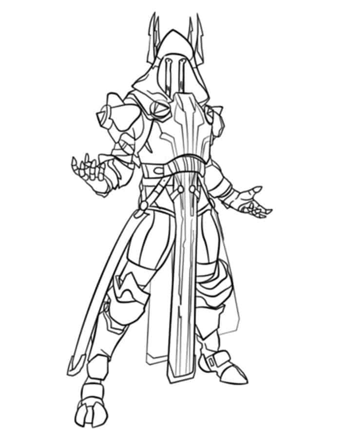 Fortnite Ice King Coloring Pages Coloring Pages To Print Ice King Coloring Pages
