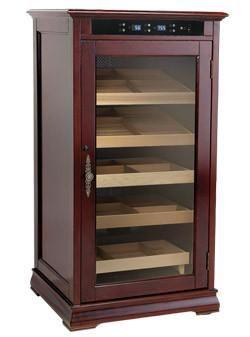 The Redford Humidor Electronic Cabinet Cigar RDFD - The Elegant Bar - 1