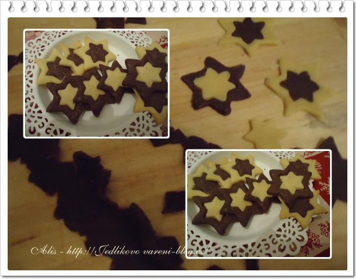 Jedlíkovo vaření: Cukroví vánoční - linecké cukroví #xmas #christmas #baking #cukrovi #vanoce #linecke