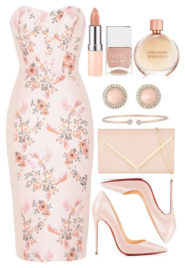Untitled #4141 by natalyasidunova on Polyvore featuring polyvore, fashion, style, STELLA McCARTNEY, Christian Louboutin, ALDO, Charlotte Russe, Forevermark, Rimmel, Nails Inc. and clothing