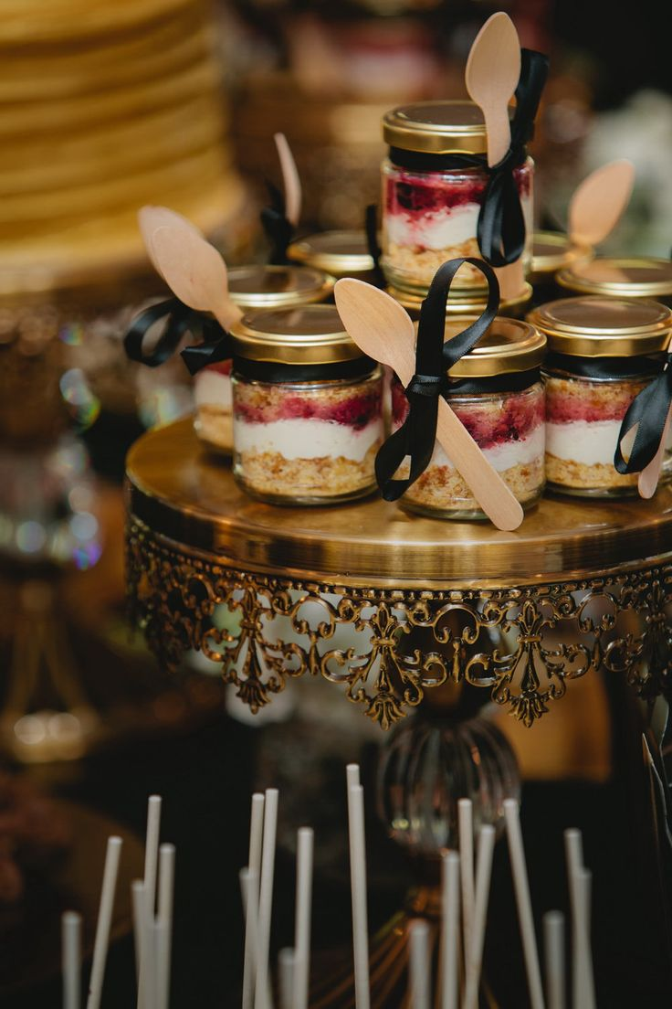 Dessert jars, strawberry shortcake, hazelnut and chocolate mousse in a jar