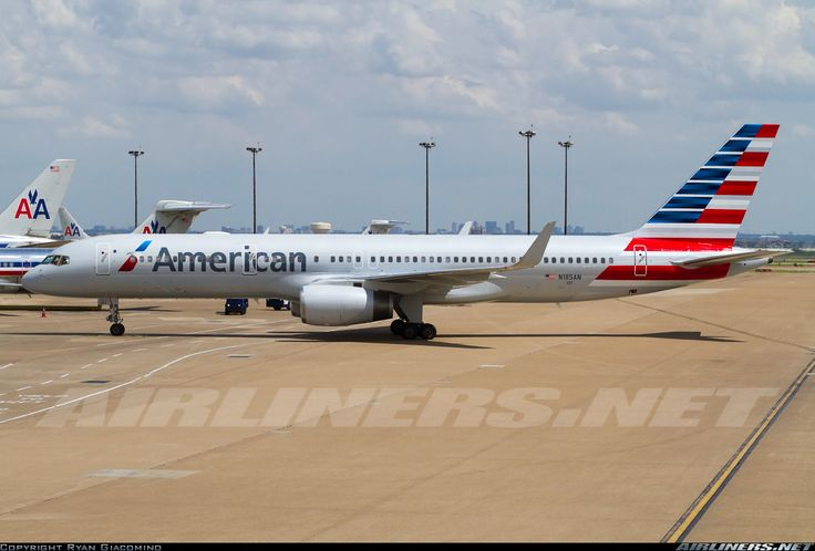 American airlines n185an boeing 757 223 aircraft picture for American airlines plane types