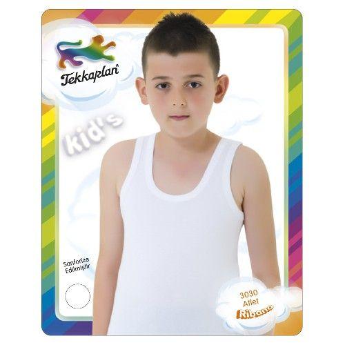 Tekkaplan Erkek Çocuk Ribana Atlet 9,90 TL ile n11.com'da! Boxer, Külot, Slip fiyatı ve özellikleri, Çocuk Giyim