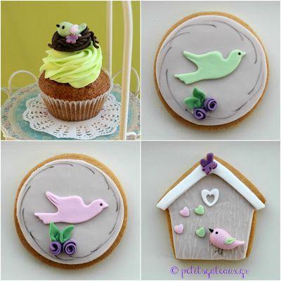 Cupcakes και μπισκότα βάπτισης!