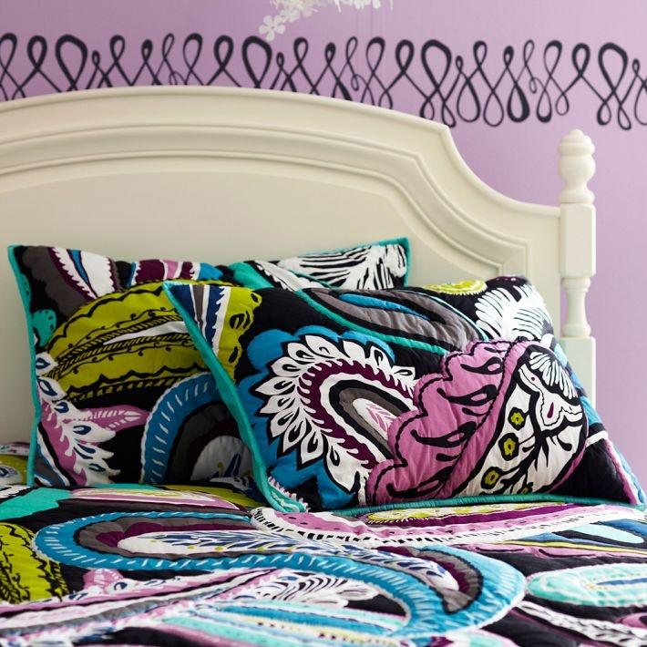 Dorm Room Ideas Paisely Comforter