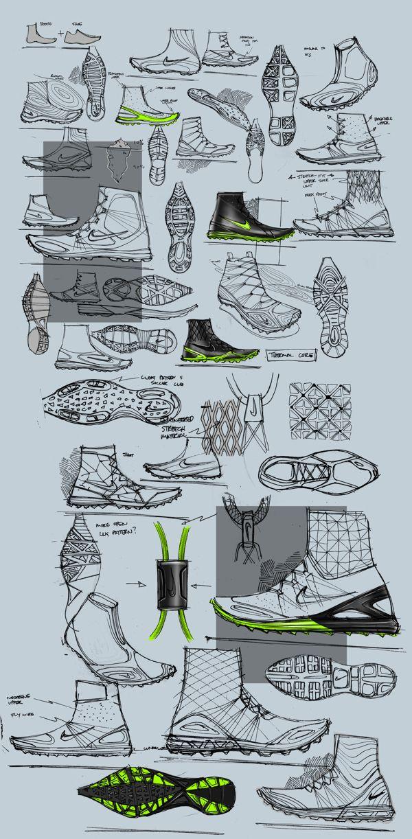 Nike ARKTIKA by Matthew Choto, via Behance
