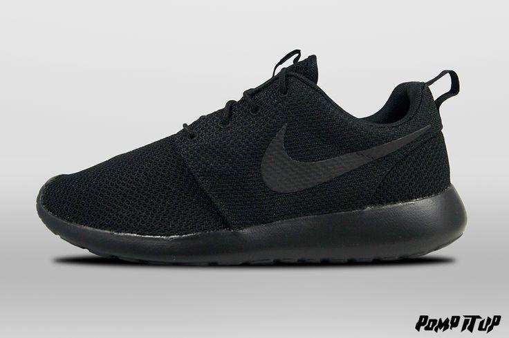 Nike Roshe One (Black/Black) For Men Sizes: 40 to 47 EUR Price: CHF 115.- #Nike #NikeRosheOne #RosheOne #Sneakers #SneakersAddict #PompItUp #PompItUpShop #PompItUpCommunity #Switzerland