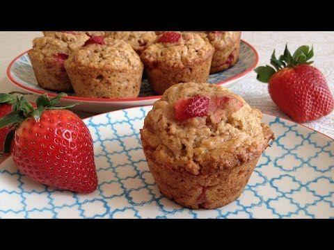 Muy Locos Por La Cocina: Muffins de Fresas y Plátano