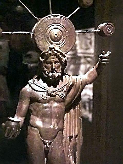 Gaulish deity Sucellus Roman 1st-2nd century CE Bronze