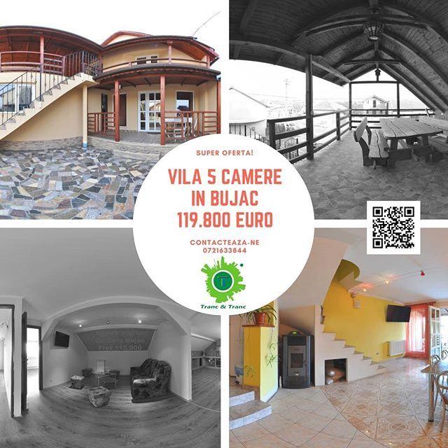 #TrancAndTranc va propune spre achizitie o vila in cartierul #Bujac cu 5 camere spatios la distanta de cateva minute de Mall.  Tur video la 360 grade:  Mai multe detalii: http://ift.tt/2Ds3hRf  #360view #realestate #imobile #imobiliare #imobiliarearad #imobiledelux #instaimobiliare #apartament #acasa #acasă #vrimobiliare #vrrealestate #vr #arad #oferta #reducere #discount #promotie #pretpromotional