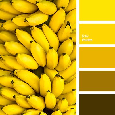 banana color, bright yellow, brown, color solutions for the home, dark yellow, saffron, shades of banana color, shades of brown