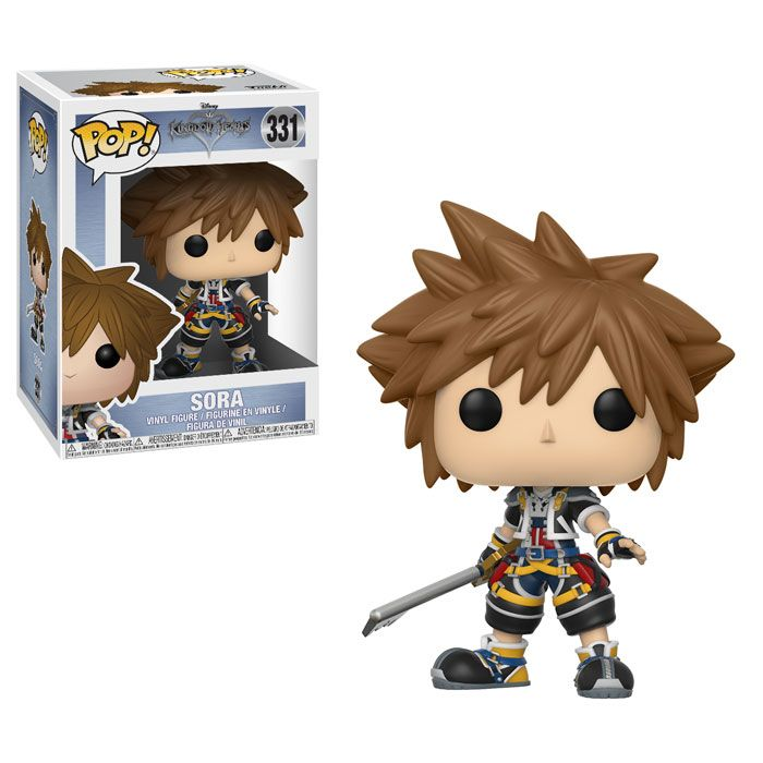 Coming Soon: Kingdom Hearts Mystery Minis, & Series 2 Pop!s | Funko his series features the Keyblade Sora and his best friends Kairi and Riku!