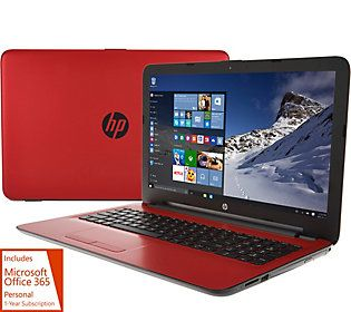 HP 17 Laptop Intel Quad Core 4GB, 1TB HD, PC Mover,AntiVirus & MS Office 365