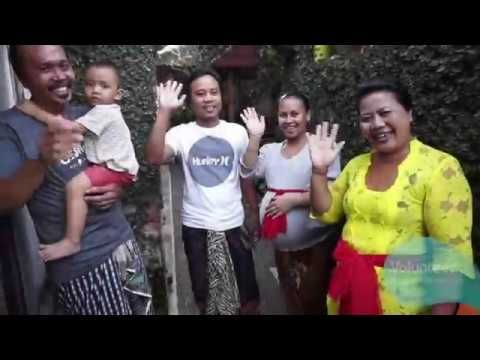 Volunteer Accommodation 2017, teaching English to children of Bali, Indo...