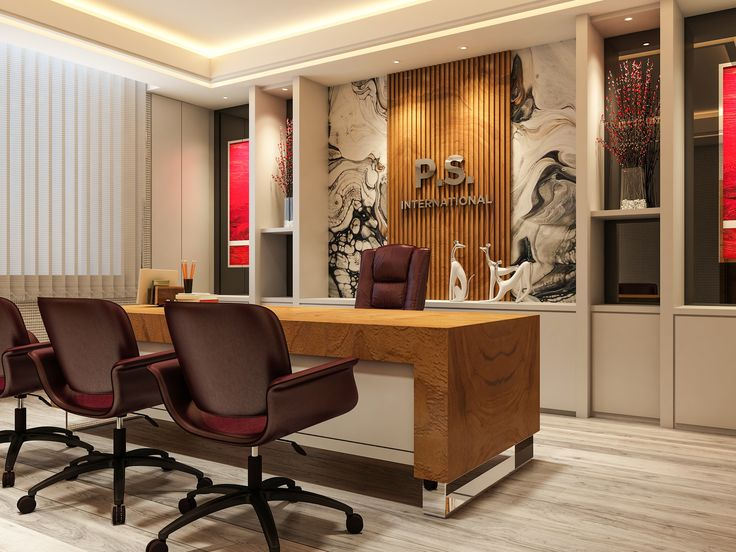 """Check out this @Behance project: """"Office Interior Design ..."""