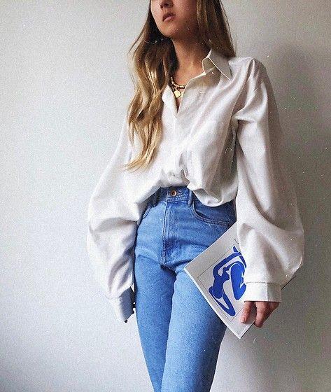 Get this look: http://lb.nu/look/8947336 More looks by Dasha Li: http://lb.nu/da_li Items in this look: Zara Moms Jeans