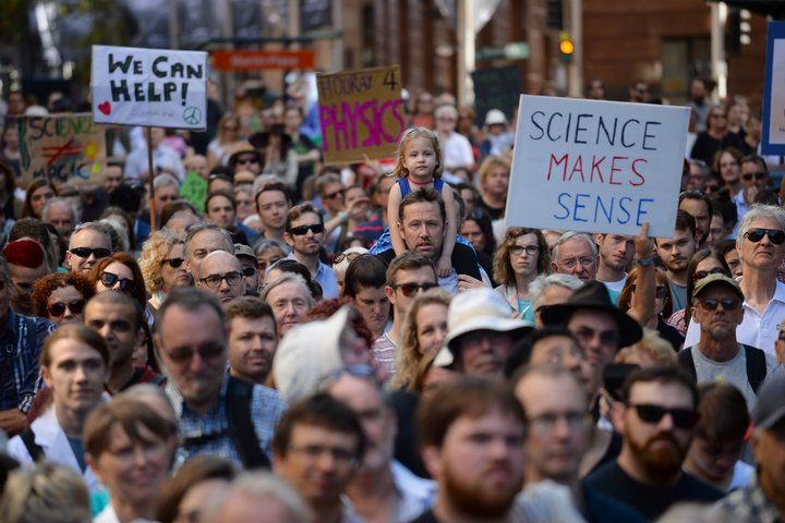 Thousands Across The U.S. And The Globe March For Science In Defiance Of Donald Trump:   An estimated 600 marches are taking place across the world.