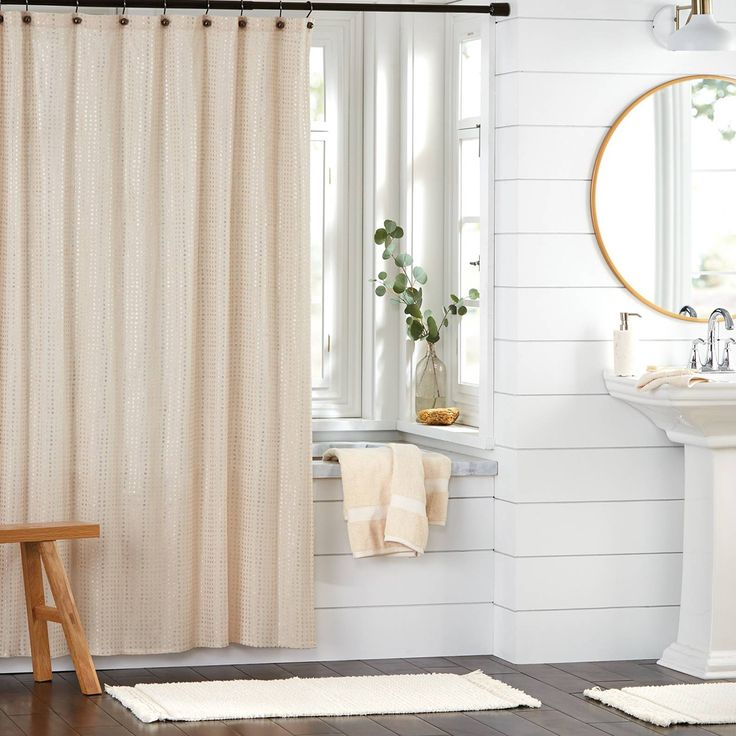 Not sold on totally remodeling your bathroom? We recommend testing out a different vibe before you fully commit.