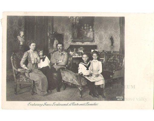 František Ferdinand d´Este s celou rodinou - Konopiště | Internetové muzeum Franz Josefa I.