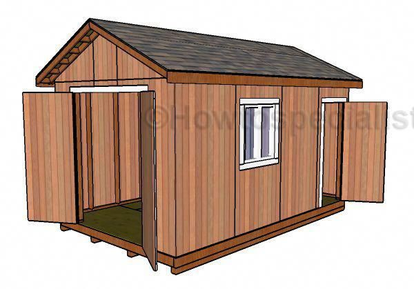 10x16 Shed Plans Free Shedbuilding Diy Shed Plans Wood Shed Plans Building A Shed