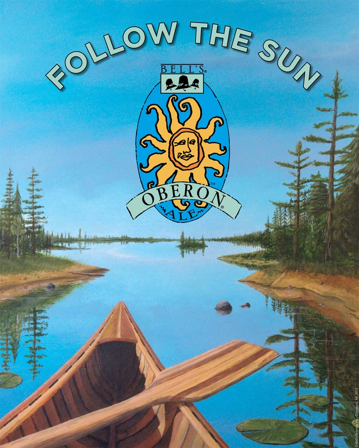 Oberon Release Day - This year, the sun will return on March 25. Check out our calendar for information on where to get that first sip in your area.
