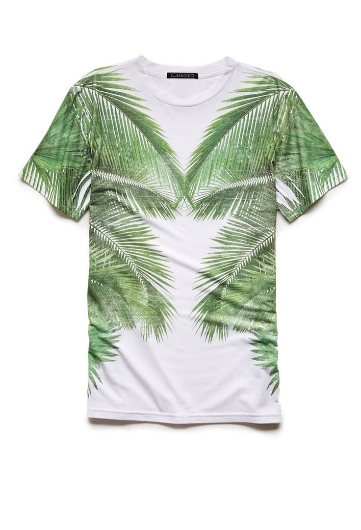 Mirrored Botanical Tee | 21 MEN #21Men - whatever. Girls can wear dudes clothes too.