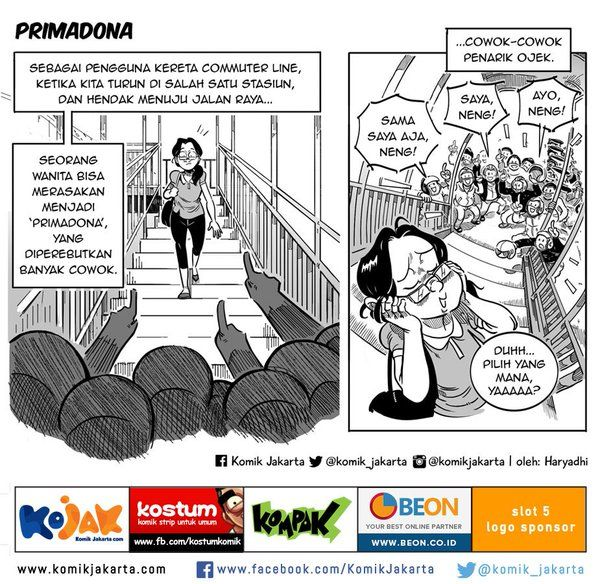 Primadona by @haryadhi #KomikJakarta https://t.co/zH9bB9KyEh