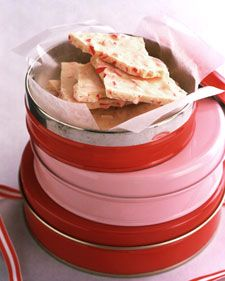 Homemade candy is a traditional Christmas gift that will never go out of style. Collected here are our best recipes for classic holiday candies including fudge, truffles, nut brittle, peppermint bark, and caramel corn.: Marthastewart, Bark Recipes, White Chocolate, Peppermintbark, Christmas Candy, Holidays, Candy Canes, Martha Stewart, Peppermint Bark