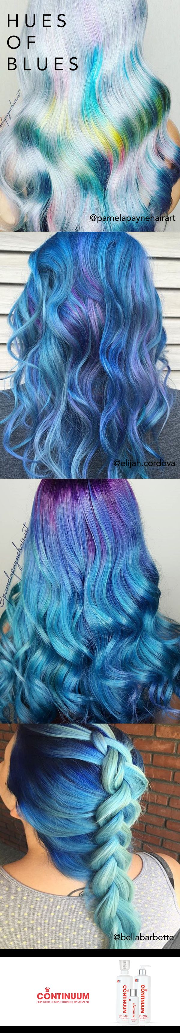 I WANT TO DO SOMETHING LIKE THE THIRD ONE but with some blonde on the bottom too
