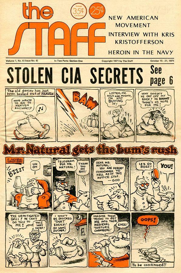 The Staff 6 by #Robert_Crumb #underground_comics