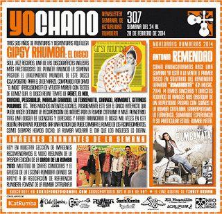 SANT GAUDENCI Rumba Catalana: YOCHANO nº307