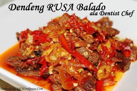 Resep Dendeng Rusa Balado ala Dentist Chef (Padangnese Style Spicy ...