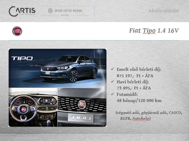 Új Fiat Tipo 1.4