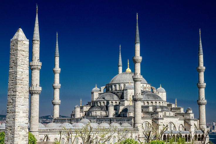the Blue Mosque + Obelisk / For 91 Days