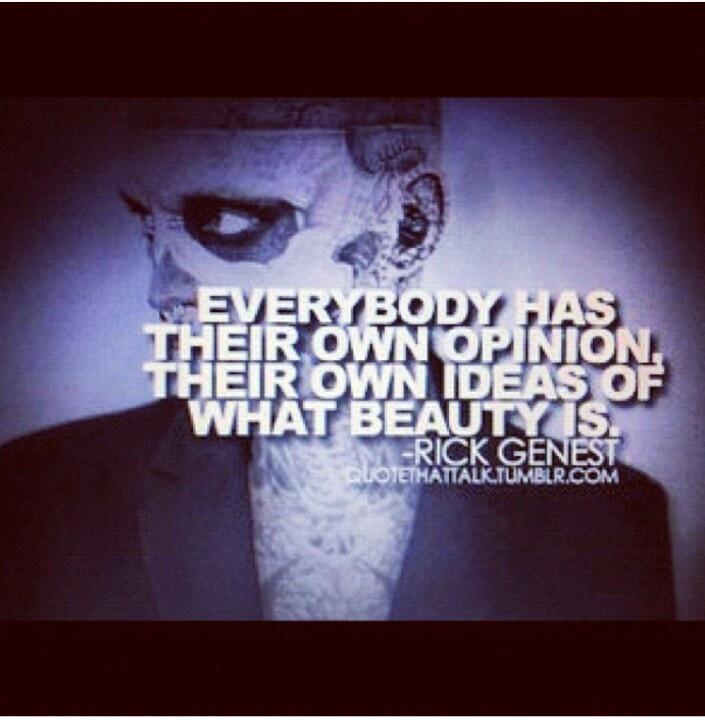 Rick Genest Quotes. QuotesGram