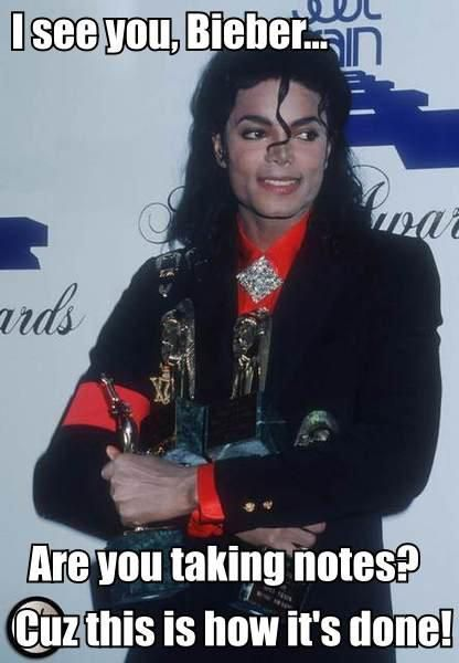 micheal jackson is better justin bieber   Has Michael Jackson been dethroned as the king of POP ?