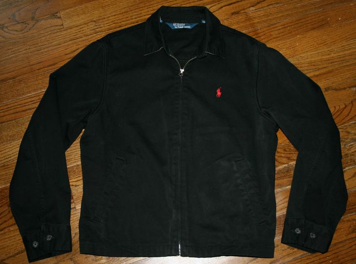 mens polo ralph lauren bi swing windbreaker jacket medium. Black Bedroom Furniture Sets. Home Design Ideas